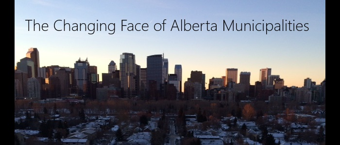 The Changing Face of Alberta Municipalities